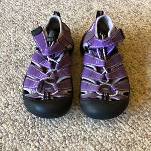 Keen purple Newport strappy H20 Trail Sandals 1